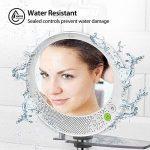 Shower Mirror With Bluetooth Speaker