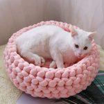 Handmade Cat Cave Bedding