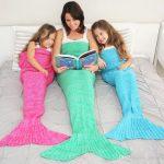Mermaid Tail Blanket Adults