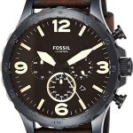 Fossil Leather Casual Watch