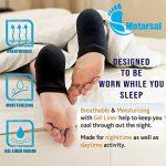 Socks with gel heel
