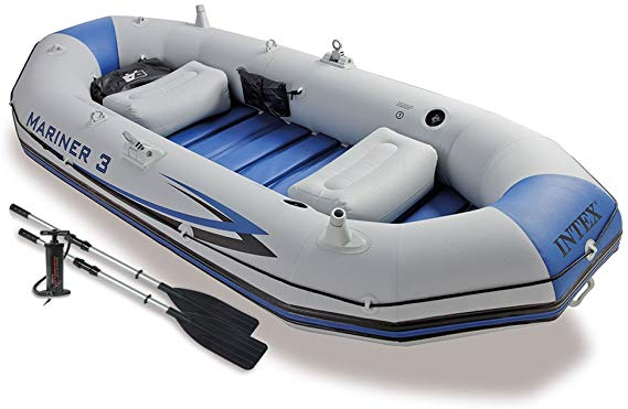 3-Person Inflatable Boat Set