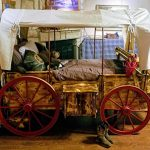 Oregon Trail Wagon Bed