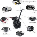 Electric Unicycle With Seat