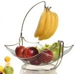 Fruit Bowl With Banana Hanger