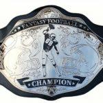 Fantasy Football Championship Belts