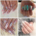 Clear Acrylic Nails