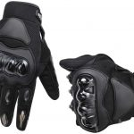 motorcycle gloves leather