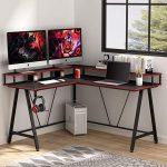 Gaming Computer Desk For Multiple Monitors