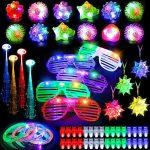 Glow In The Dark Party Ideas Outside