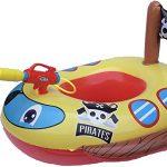 Motorized Pool Float With Water Gun