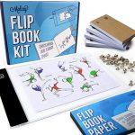 Flip Book Kit With Light Pad