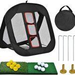 Golf Practice Net And Mat