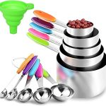 Measuring Cups And Spoons Stainless Steel