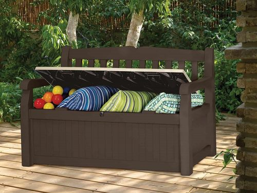 Swell Keter Storage Bench Solo Spider Spiritservingveterans Wood Chair Design Ideas Spiritservingveteransorg